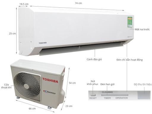 May Lạnh Toshiba